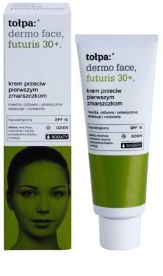 Tołpa Dermo Face Futuris 30+ Crema bogata de zi  SPF 15 1