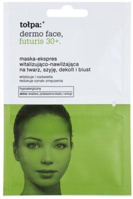 Tołpa Dermo Face Futuris 30+ поживна маска зі зволожуючим ефектом