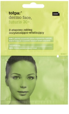 Tołpa Dermo Face Futuris 30+ 2 кроки для очищення та відновлення шкіри
