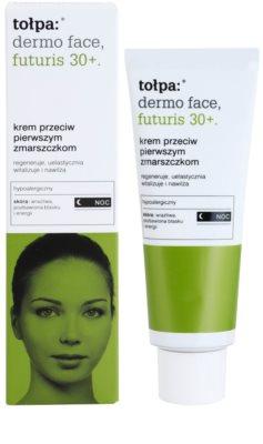 Tołpa Dermo Face Futuris 30+ nočna krema proti prvim znakom staranja kože 1