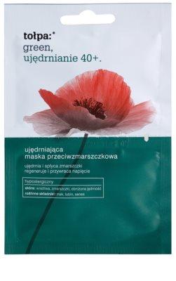 Tołpa Green Firming 40+ máscara reforçadora antirrugas