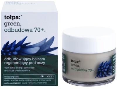Tołpa Green Reconstruction 70+ intensives Balsam für die Augenpartie Creme zur Wiederherstellung der Festigkeit der Haut 1