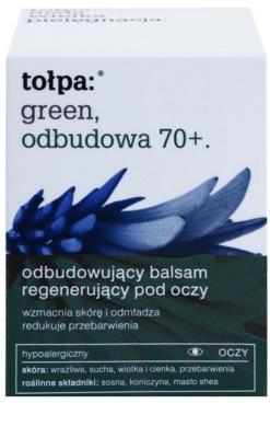 Tołpa Green Reconstruction 70+ intensives Balsam für die Augenpartie Creme zur Wiederherstellung der Festigkeit der Haut 2