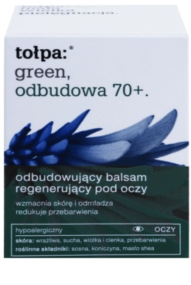 Tołpa Green Reconstruction 70+ bálsamo intensivo para olhos para recuperar a firmeza da pele 2