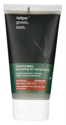 Tołpa Green Men gel exfoliante limpiador con efecto humectante