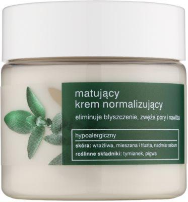 Tołpa Green Matt crema normalizante matificante para pieles grasas