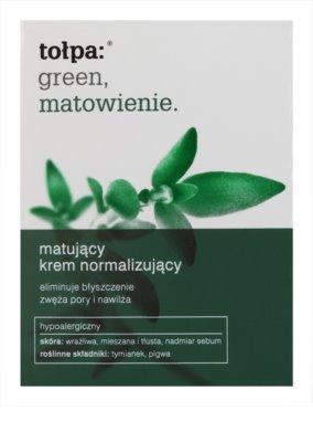 Tołpa Green Matt crema normalizante matificante para pieles grasas 2