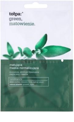 Tołpa Green Matt mascarilla facial normalizante con efecto mate
