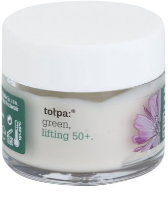 Tołpa Green Lifting 50+ crema antiarrugas para contorno de ojos  con efecto lifting