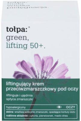 Tołpa Green Lifting 50+ крем проти зморшок для шкіри навколо очей з ліфтинговим ефектом 2