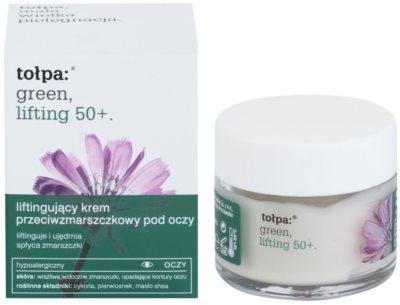 Tołpa Green Lifting 50+ crema antiarrugas para contorno de ojos  con efecto lifting 1