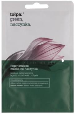 Tołpa Green Capillary mascarilla regeneradora para piel con tendencia a las rojeces