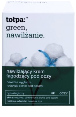 Tołpa Green Moisturizing creme de olhos apaziguador 2