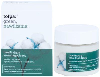 Tołpa Green Moisturizing crema calmanta si hidratanta cu efect de netezire 1