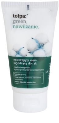 Tołpa Green Moisturizing nyugtató kézkrém hidratáló hatással