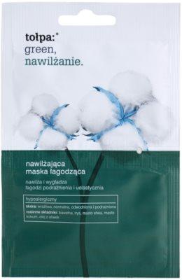 Tołpa Green Moisturizing beruhigende und hydratisierende Maske