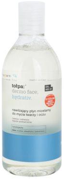Tołpa Dermo Face Hydrativ apa micelara hidratanta pe fata si ochi