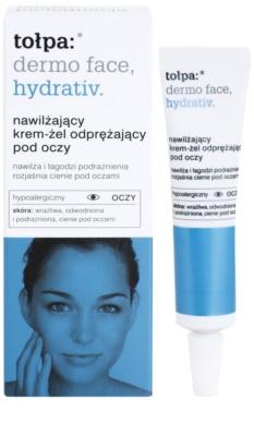 Tołpa Dermo Face Hydrativ gel-crema pentru ochi impotriva pungilor de sub ochi 1