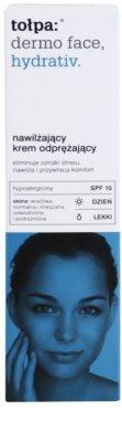 Tołpa Dermo Face Hydrativ hydratisierende und schützende Tagescreme SPF 15 2