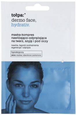 Tołpa Dermo Face Hydrativ intensywna maska nawilżająca do twarzy i okolic oczu
