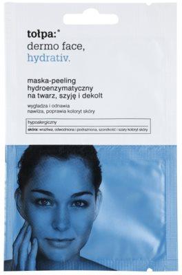Tołpa Dermo Face Hydrativ encimska piling maska z vlažilnim učinkom