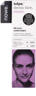 Tołpa Dermo Face Idealic BB creme para pele perfeita e unificada 2