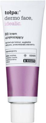 Tołpa Dermo Face Idealic BB Creme mit nährender Wirkung für das gleichmäßige und makellose Aussehen der Haut