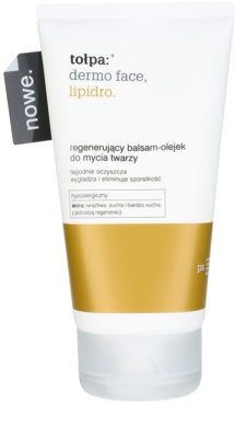 Tołpa Dermo Face Lipidro oczyszczający balsam-olejek o działaniu regenerującym