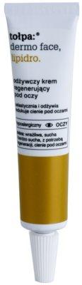 Tołpa Dermo Face Lipidro creme regenerador para os olhos antirrugas e anti-olheiras