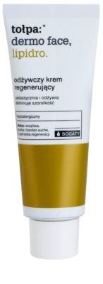 Tołpa Dermo Face Lipidro nährende und regenerierende Creme für trockene bis sehr trockene Haut