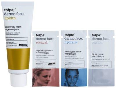 Tołpa Dermo Face Lipidro подхранващ регенериращ крем за суха или много суха кожа 2