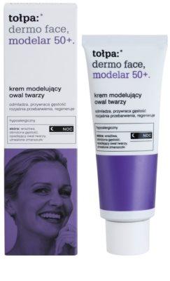 Tołpa Dermo Face Modelar 50+ remodelační noční krém s omlazujícím účinkem 1
