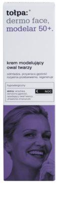 Tołpa Dermo Face Modelar 50+ remodelační noční krém s omlazujícím účinkem 3