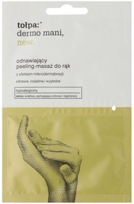 Tołpa Dermo Mani New erneuerndes Peeling für die Hände