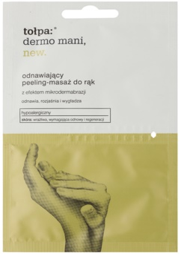 Tołpa Dermo Mani New obnovující peeling na ruce