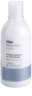 Tołpa Dermo Face Physio міцелярна очищуюча емульсія зі зволожуючим ефектом