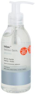 Tołpa Dermo Face Physio żel do mycia do twarzy i okolic oczu