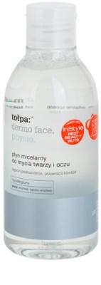 Tołpa Dermo Face Physio Mizellar-Reinigungswasser für Gesicht und Augen