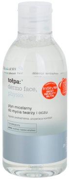 Tołpa Dermo Face Physio oczyszczający płyn micelarny do twarzy i okolic oczu