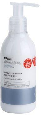 Tołpa Dermo Face Physio tisztító tej az arcra és a szemekre