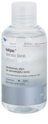 Tołpa Dermo Face Physio desmaquillante de ojos bifásico para fortalecer las pestañas