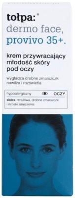 Tołpa Dermo Face Provivo 35+ crema pentru ochi cu efect de reintinerire 2