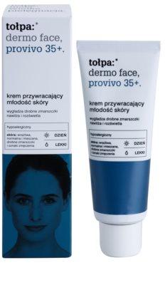 Tołpa Dermo Face Provivo 35+ crema de día con textura ligera rejuvenecedor de la piel 1