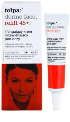 Tołpa Dermo Face Relift 45+ crema reafirmante para contorno de ojos antiarrugas y antiojeras 1