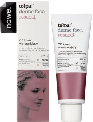 Tołpa Dermo Face Rosacal CC Creme für Haut mit Neigung zum Erröten SPF 10 1