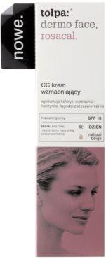 Tołpa Dermo Face Rosacal CC krém pro pleť se sklonem k začervenání SPF 10 2