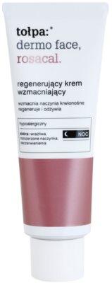 Tołpa Dermo Face Rosacal nočna regeneracijska krema za občutljivo kožo, nagnjeno k rdečici