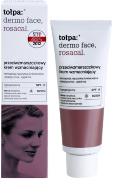 Tołpa Dermo Face Rosacal erősítő krém az elpattogott erekre SPF 15 1