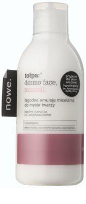 Tołpa Dermo Face Rosacal sanfte mizellare Emulsion für empfindliche Haut mit der Neigung zum Erröten
