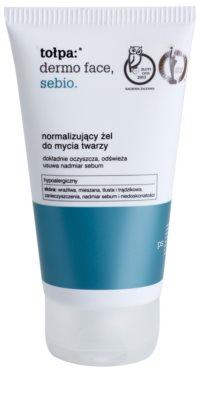 Tołpa Dermo Face Sebio tisztító gél zsíros bőrre
